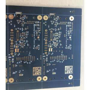 4 layer 1.6mm 1OZ black solder  white  silkscreen  ENIG PCB