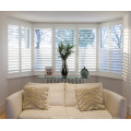 Factory Supply Superior Quality Double Hinged Basswood Plantation Shutters
