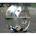 22.5x8.25 Polished Bothsides Ruedas de aluminio del carro