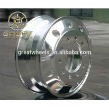 22.5x8.25 Полированная обе стороны алюминиевых колес грузовика