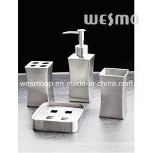 Матовый финиш с тонкой талией Набор из нержавеющей стали для ванны (WBS0815A)