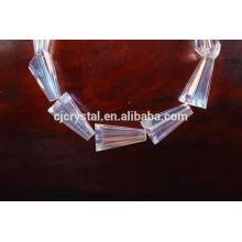 2015 nouveau style en forme de tour en forme de perles de verre pour faire des bijoux en vrac en vrac