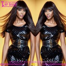 2015 Best Sell Virgin Hair Silky Straight Human Hair Wefts