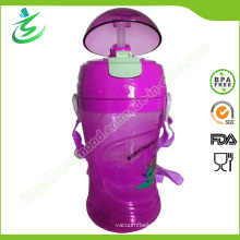 Tritan Water Bottle with Straw and Customized Logo