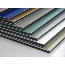 01 Seite ungebrochene Aluminium-Verbundplatte