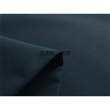 TC Black Uniform Fabric Winter Polyester / Cotton