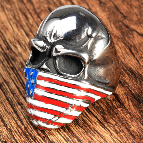 Custom fashion mask National flag rings