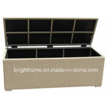 Garden Cushion Box Rattan Wicker Cushion Box Outdoor