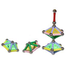 108 piezas educativas juguetes 3D construcción bloquea el palillo magnético combinación plástico