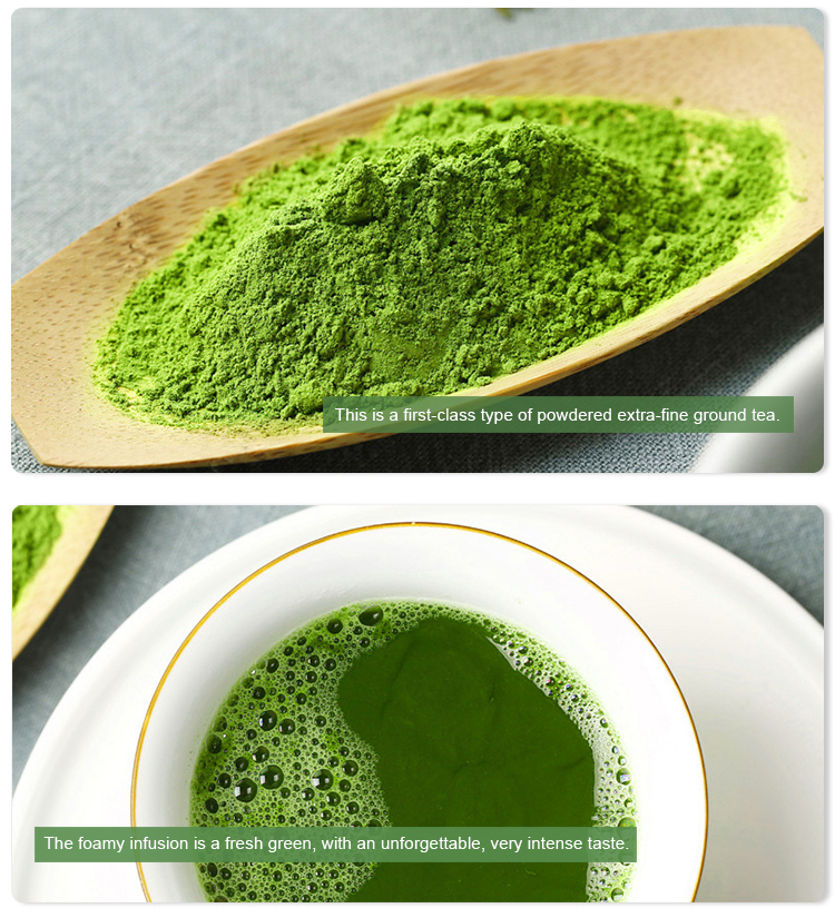 Ceremonial Matcha Certified Organic Matcha Tea Powder