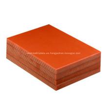 Aislamiento de baquelita laminada de papel fenólico