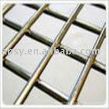 panneau de treillis métallique soudé galvanisé
