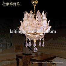 Centros de mesa de araña de cristal murano de mesa en piezas de araña para bodas 71001