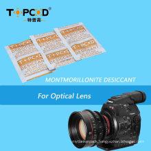 30g Montmorillonite Clay Bentonite Desiccant with Tyvek Packaging for Optical Lens