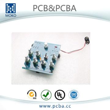 Asamblea de la placa de circuito impresa UL rápida de Shenzhen FR4 PCB SMT y fábrica de la INMERSIÓN