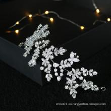 Accesorios para el cabello de moda accesorios para el cabello de la boda nupcial corona del desfile