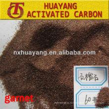 HY9512 пескоструйные гранатовый песок 80 грит