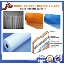 Malha de fibra de vidro 160g exportada para a Turquia e Roménia (fábrica ISO)