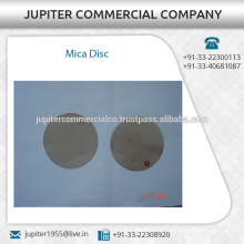 Preciouly Design Excellent Finish Mica Disc Price en Inde