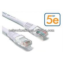 8p8c rj45 conector não blindado utp cat5e cat6 cabo de cabo de remendo
