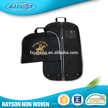 Wholesale Cheap Foldable Extensions Non Woven Cloth Fabric Wedding Dress Garment Bag