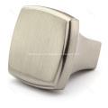 Brush nickel zinc alloy kitchen cabinet drawer handles