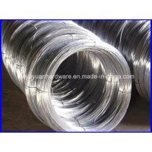 25kg / bobina de aço de baixo carbono galvanizado fio preço de fábrica