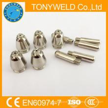 Für 55A Plasmaschneiden Verbrauchsmaterial SG-55 AG-60 Düse und Elektrode