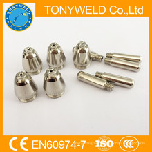 For 55A plasma cutting consumable SG-55 AG-60 nozzle and electrode