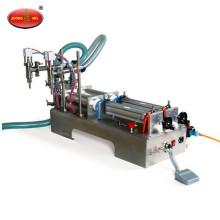 Máquina de llenado de líquidos semi automática manual ketchup máquina de llenado de líquidos