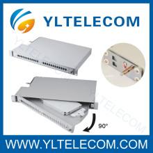 90 Grad drehbaren Fibre-Patch-Panel