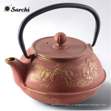 Старинный голландский осаковый чугунный чайник
