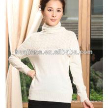 fashion turtleneck cashmere sweater women