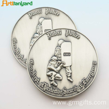 Customized Metal Coin Token With Plated