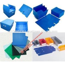 Hoja hueca de cartón corrugado PP / hoja hueca de pp publicitaria de 4x8 con diseño y tecnología modernos