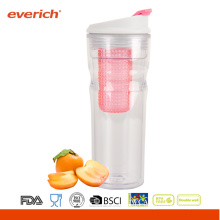 16OZ Everich Double Wall Tritan New fruit juice bottle