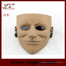V militar asesino película máscara táctica máscara para Airsoft