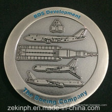 Moeda de Desafio de Níquel Antigo da Boeing Company