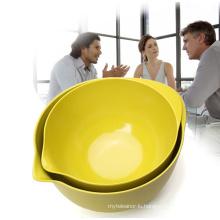 (BC-B1021) Natural Bamboo Fiber Tableware Bowl