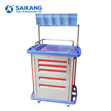 SKR054-AT05 Económico Hospital Medical Workstation Clinic ABS Medicina Enfermería Trolley