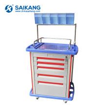SKR054-AT05 Chariot médical d'infirmerie de médecine d'ABS de clinique médicale de station de travail d'hôpital