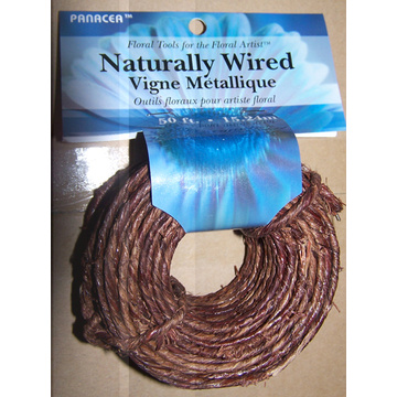 Natural Wrapped Wire Coil Draadrol