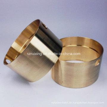 CNC-Bearbeitung von Messing-Hardwareteilen
