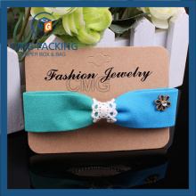 Fashion Jewelry Printed Packing Headdress Display Cardboard (CMG-108)