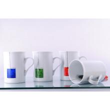 Taza de té de porcelana