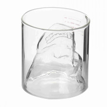 Skull Single Wall Glass Cup
