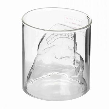 Coupe en verre à un seul manche