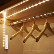 Naturaleza blanco / blanco cálido sensor de cuerpo humano LED Modo dual 1M 30 LED impermeable LED sensor de luz de tira