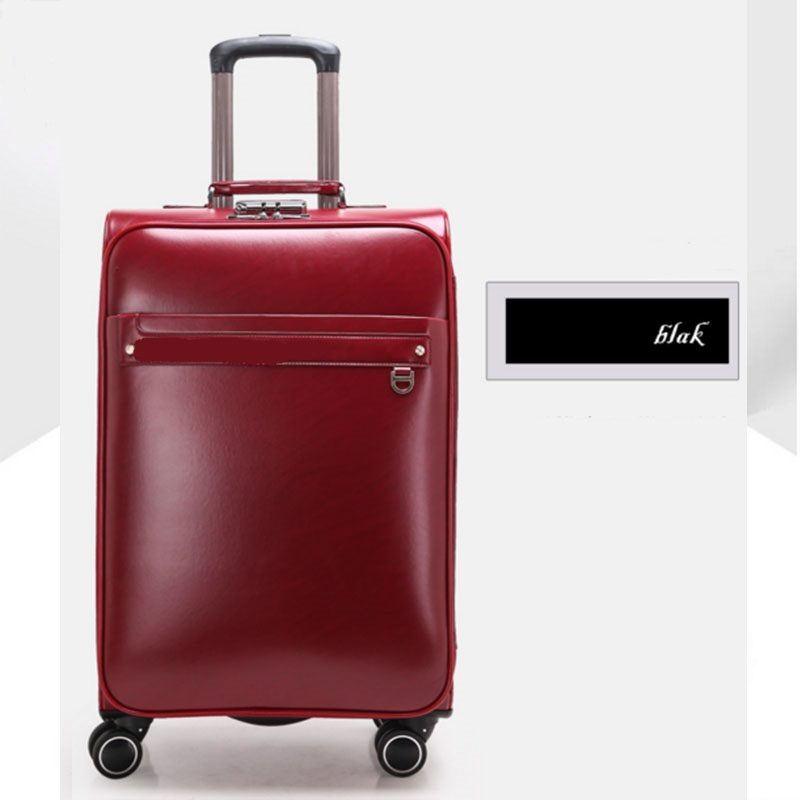 Working pu luggage
