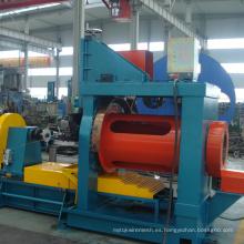 Máquina de tubo de filtro de aceite de control de arena